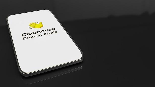 Aplikacja clubhouse do włączania czatu audio na smartfonie