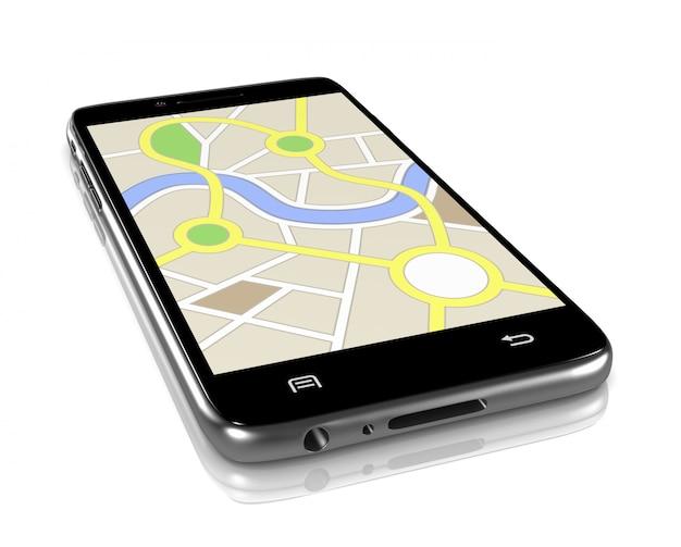 Aplikacja systemu nawigacji