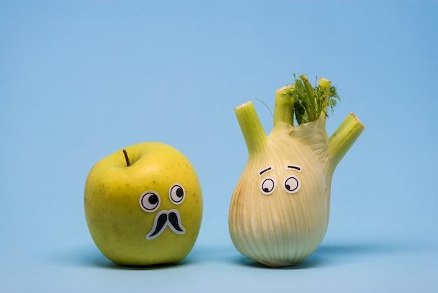 Apple i fennel patrzą podejrzanie