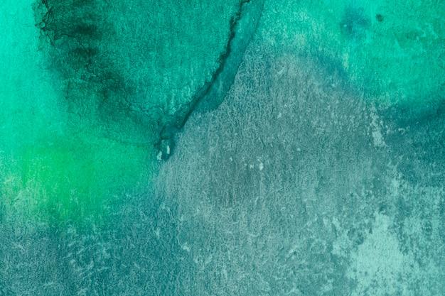 Aquarelle ręcznie wykonana zielona technika grunge