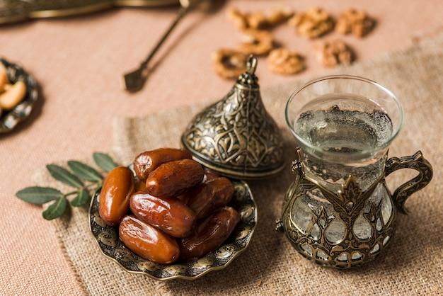 Arabski jedzenie koncepcja ramadan