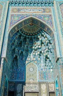 Arabski ornament - dekoracja meczetu w petersburgu