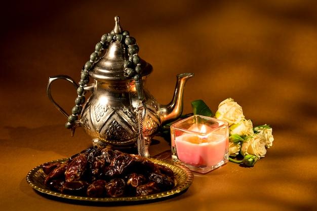 Arabski tradycyjny projekt aranżacji
