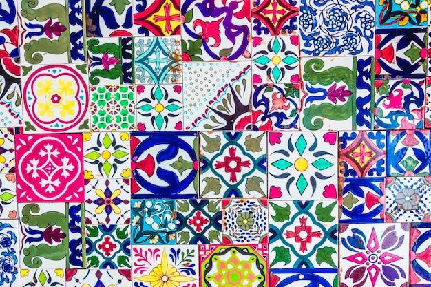 Arabskie mozaiki dekoracji meczetu miasta