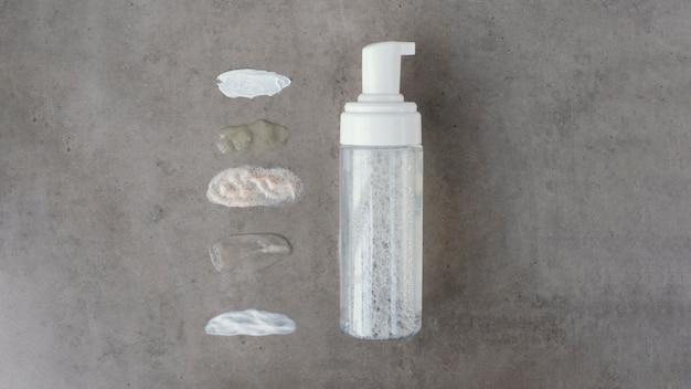 Aranżacja kosmetyków i kosmetyków do pielęgnacji ciała