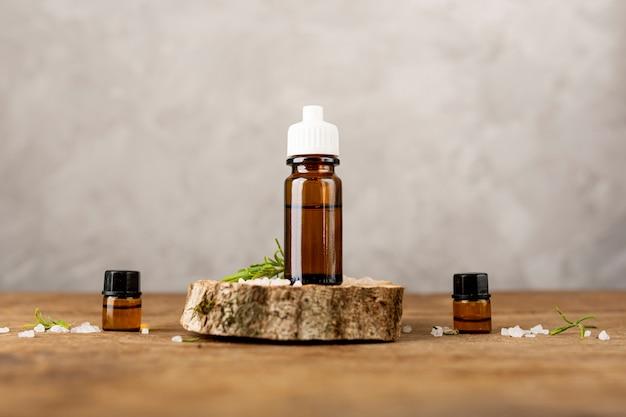Aranżacja olejków i soli spa