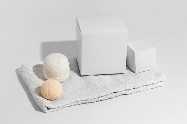 Aranżacja terapii uzdrowiskowej z użyciem bomb do kąpieli