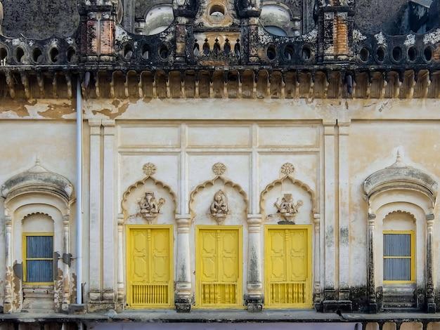 Architektura ayodhya znana również jako saketa, starożytne miasto indii