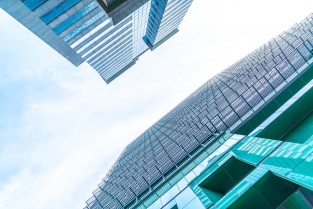 Architektura biznes biurowiec wieżowiec zewnętrzny