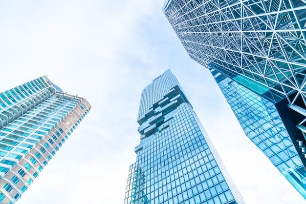 Architektura biznes budynek biurowy zewnętrzny wieżowiec