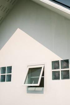 Architektura domu okna