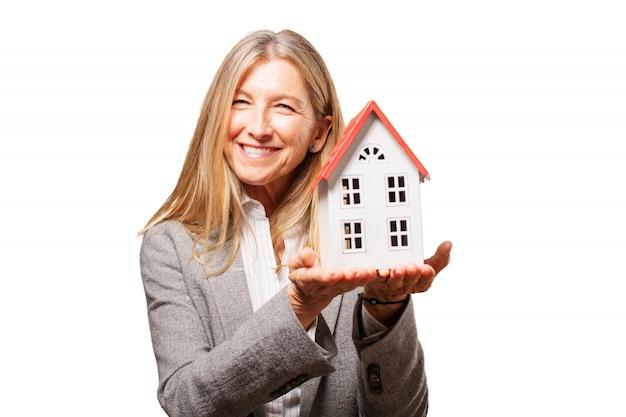 Architektura nieruchomość sukces nowy dom