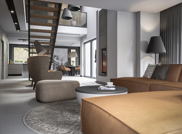Architektura stylowy pokój