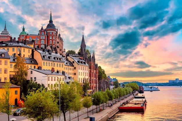 Architektura w sztokholmie w szwecji.