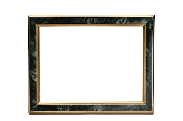 Archiwalne ramki na zdjęcia z efektem marmuru na na białym tle.