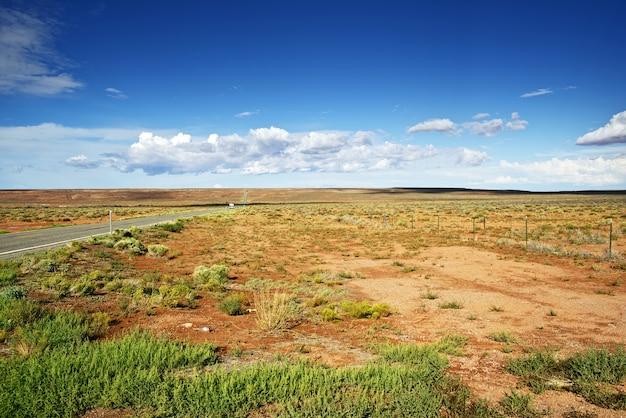 Arizona surowego krajobrazu