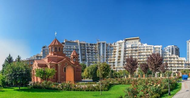 Armeński kościół apostolski w odessie na ukrainie