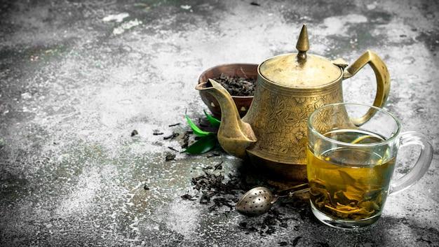 Aromatyczna herbata indyjska.