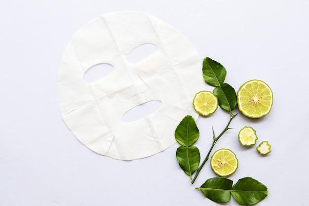 Aromatyczna maska w płachcie z limonką kaffir near