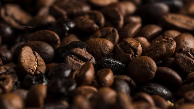 Aromatyczne ziarna kawy