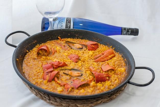 Arroz menu gastronomia gastronomiczna