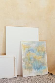 Artysta rekwizyty do malowania