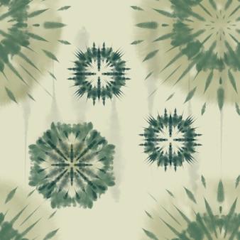 Artystyczna tkanina tie dye striped pattern ink background bohemian spiral