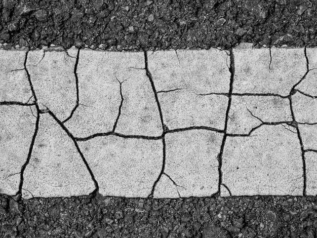 Asfalt powierzchnia droga z linia abstrakta tłem