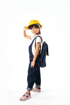 Asian girl thai student chce być inżynierem