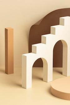 Asortyment abstrakcyjnych elementów projektu