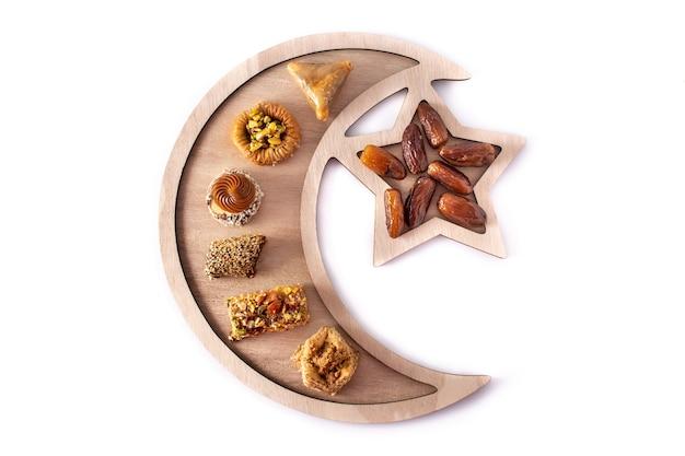 Asortyment baklawy deserowej ramadan