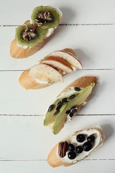 Asortyment kanapek