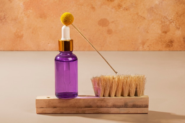 Asortyment naturalnych produktów do pielęgnacji