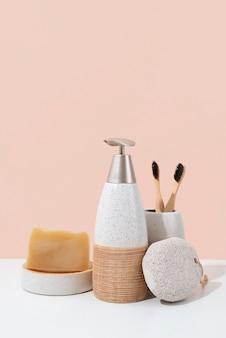 Asortyment naturalnych produktów do samoopieki