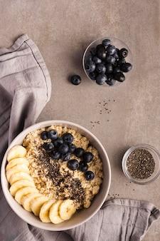 Asortyment naturalnych zdrowych deserów
