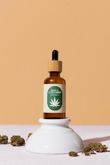 Asortyment organicznych zakraplaczy oleju cbd