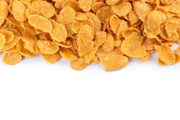 Asortyment płatków kukurydzianych