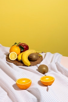 Asortyment pysznej zdrowej żywności