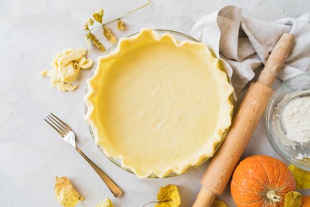 Asortyment pysznych ciast i dyni