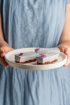Asortyment pysznych domowych ciast