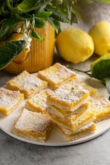 Asortyment pysznych domowych smakołyków