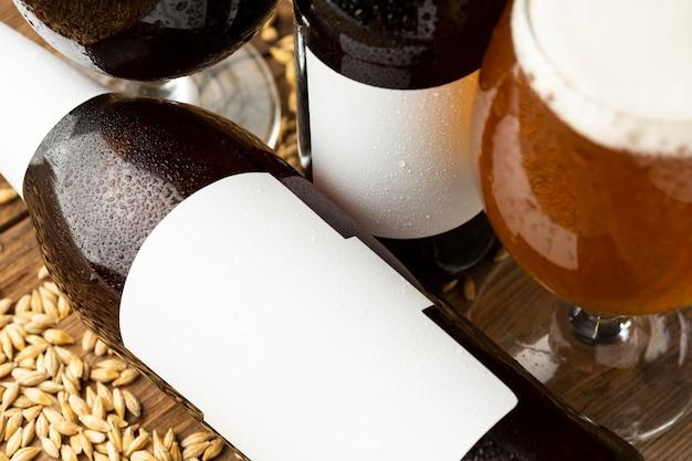 Asortyment smacznych amerykańskich piw