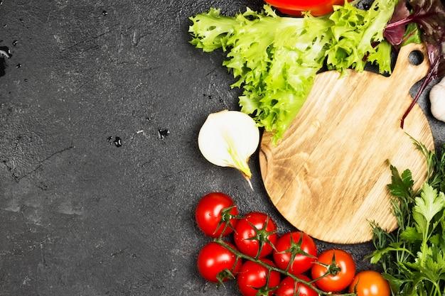 Asortyment świeżych warzyw