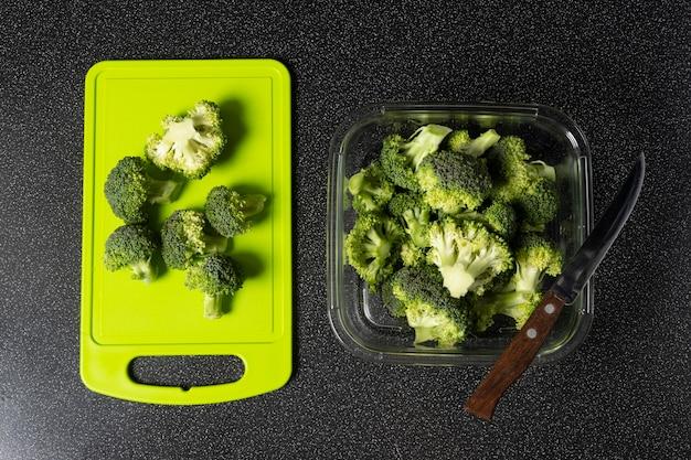Asortyment zdrowej surowej żywności