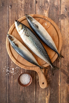 Asortyment zdrowych owoców morza