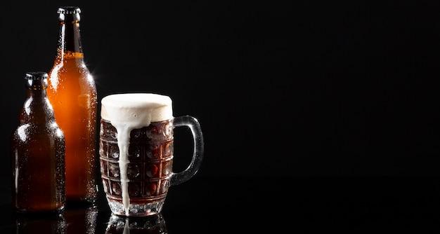 Asortyment ze smacznym amerykańskim piwem