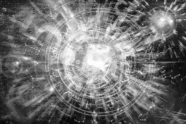 Astrologia horoskop wzór tekstury tła, projekt graficzny