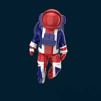 Astronauta pojęcie - 3d ilustracja