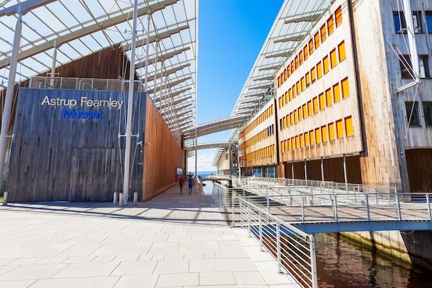 Astrup fearnley museum of modern art to galeria sztuki współczesnej w oslo w norwegii.