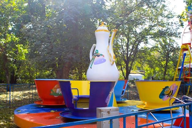 Atrakcje dla dzieci w parku miejskim